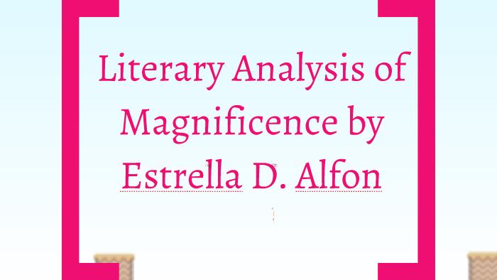 magnificence by estrella alfon conflict