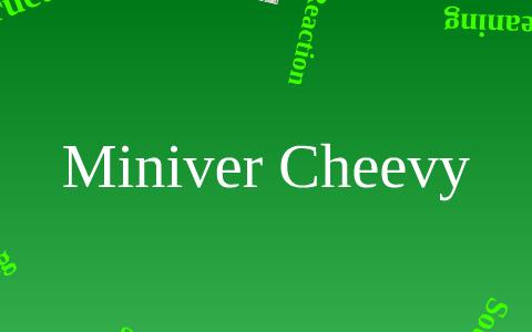 miniver cheevy rhyme scheme