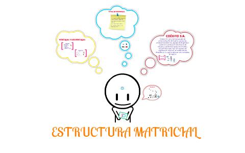 Estructura Matricial By Maria Pimiento On Prezi