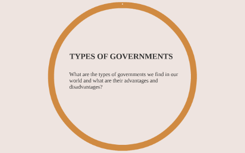 coalition government advantages and disadvantages