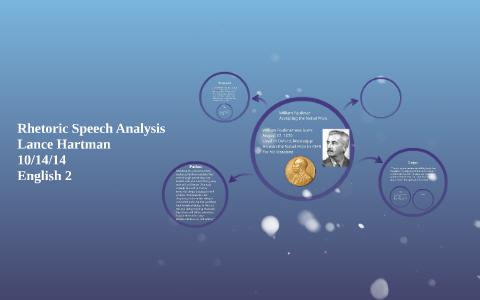 william faulkner nobel prize acceptance speech analysis