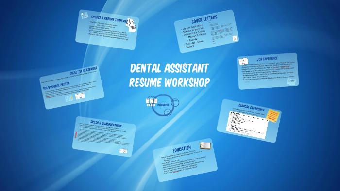 Dental Assistant Resume Workshop By Joy Bancroft