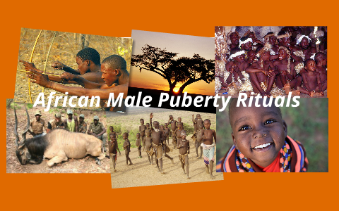 African puberty rituals apologise, but