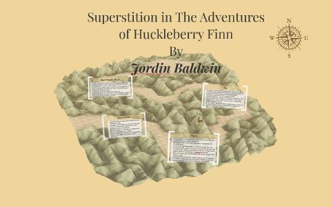 superstition in huckleberry finn