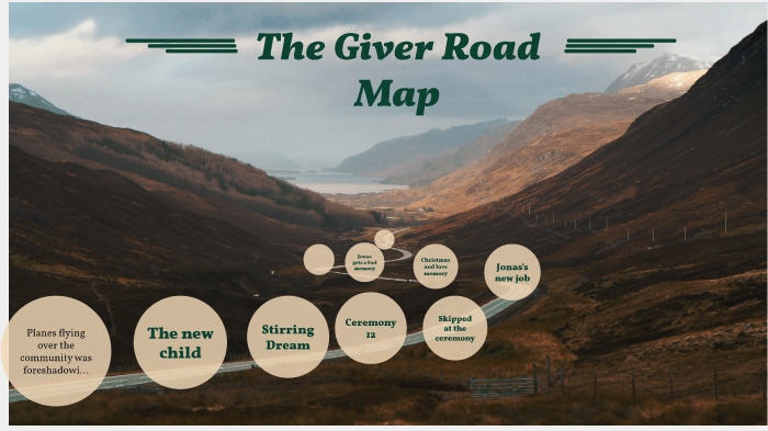 The Giver Road map by ndon jephson on Prezi Next on
