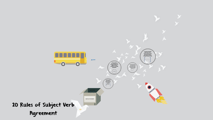 20 Rules Of Subject Verb Agreement By Carla Magcawas On Prezi