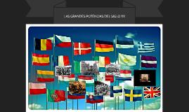 Las Grandes Potencias Mundiales De Principios Del Siglo Xx By Enrique Rosales
