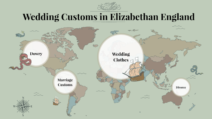Customs in england marriage elizabethan Marriage Process