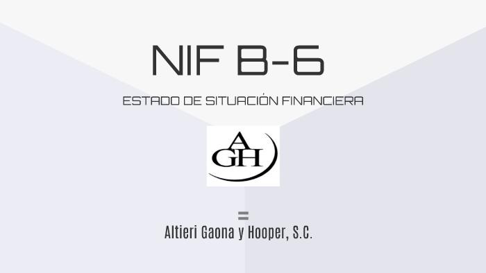 Nif B 6 By Carlos Serrano On Prezi