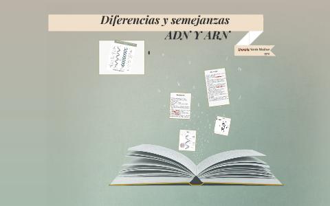 Diferencias Y Semejanzas Adn Y Arn By Alejandra Medina On Prezi
