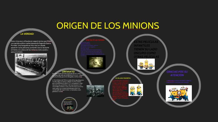 Origen De Los Minions By Camilo Moreno On Prezi