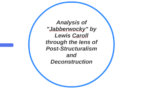 Analysis Of Jabberwocky By Lewis Caroll Through The Lens O