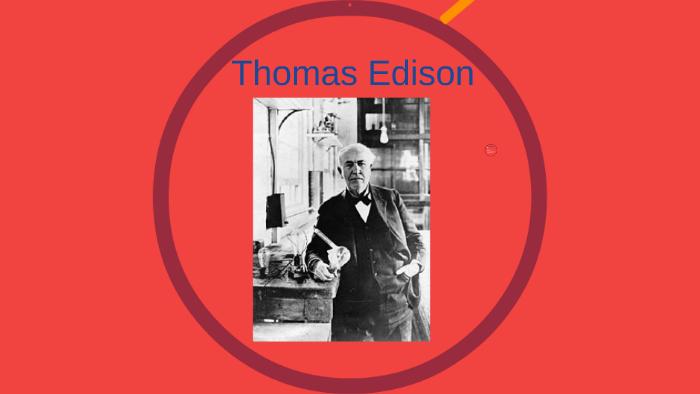 Thomas Edison By Wout Aerts On Prezi