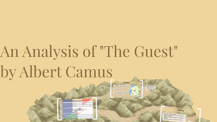 the guest camus analysis