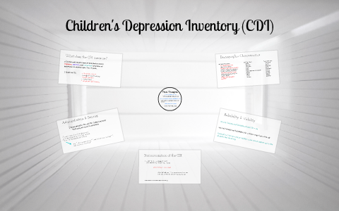 Children's Depression Inventory by Katie Freeman on Prezi
