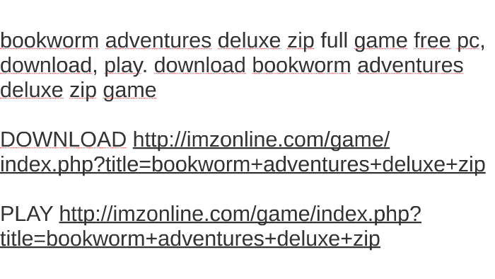 bookworm deluxe game free download