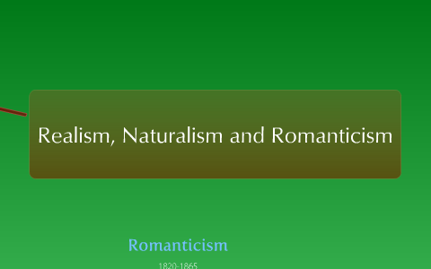 what is the difference between romanticism and realism