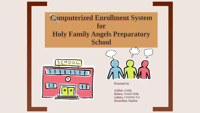 sample thesis documentation enrollment system