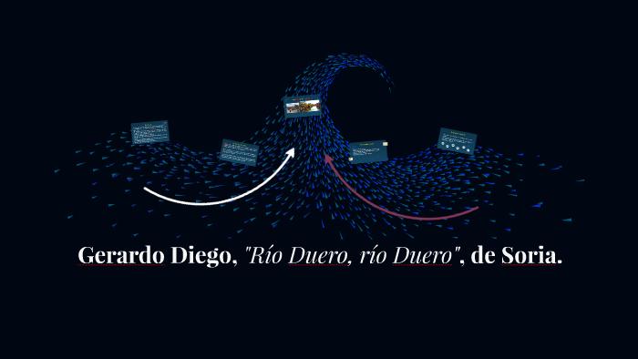 Gerardo Diego Río Duero Río Duero De Soria By Annery