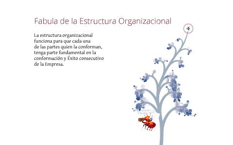 Fabula De La Estructura Organizacional By Puntoyconcepto