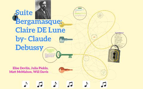 Suite Bergamasqueclaire De Lune By Claude Debussy By Julia Pieklo