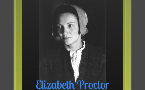 what happened to elizabeth proctor