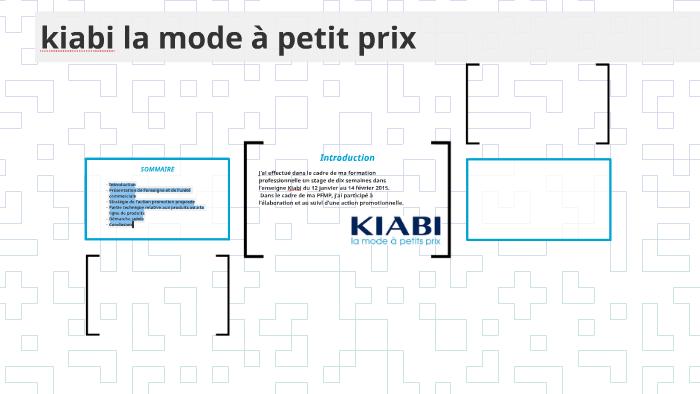 Kiabi La Mode A Petit Prix By Delphie Malemba On Prezi
