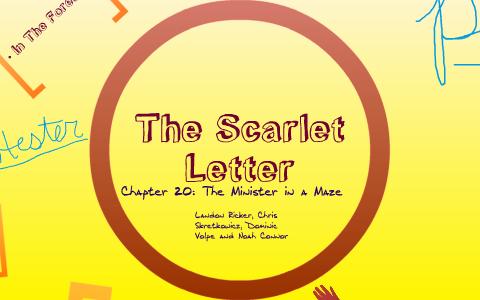 scarlet letter chapter 20