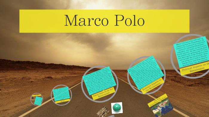 marco polo influences