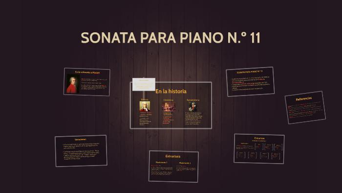 Sonata Para Piano N º 11 By Camilo Bedoya On Prezi