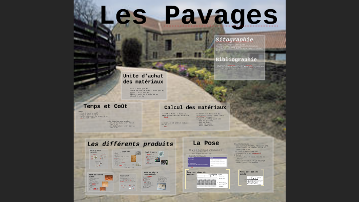 Pavage By Antoine Christien On Prezi