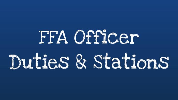 FFA Officer Duties & Stations by Breanna Murphy on Prezi