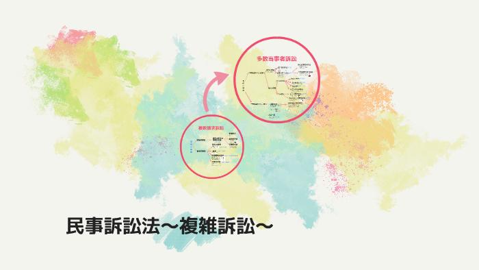 民事訴訟法〜複雑訴訟〜 by Yuic...