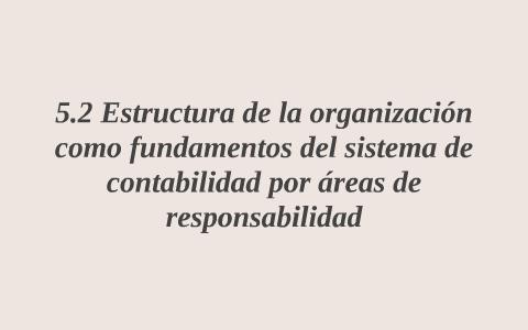 Estructura De La Organización Como Fundamentos Del By