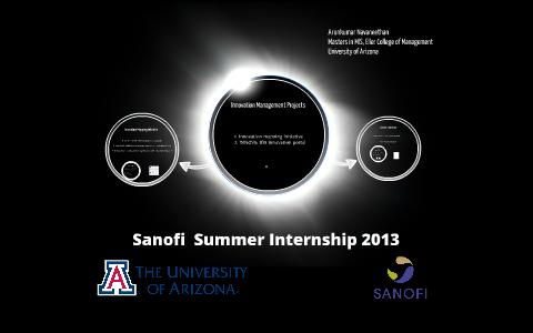 Sanofi Summer Internship 2013 by Arunkumar Navaneethan on Prezi