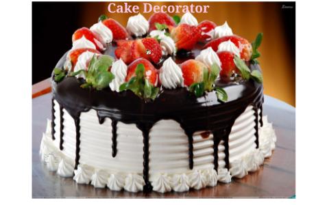 Cake Decorator By Jami D On Prezi