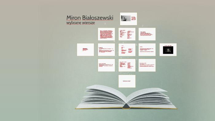Miron Białoszewski By Sara Napora On Prezi