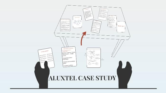 aluxtel case study rich picture