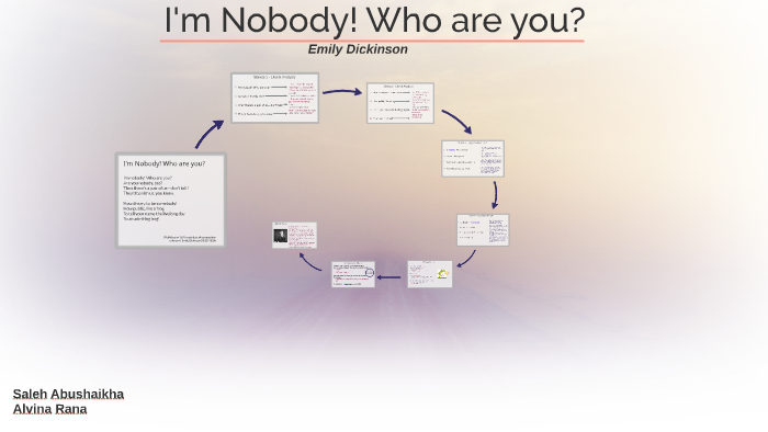 i am nobody who are you emily dickinson