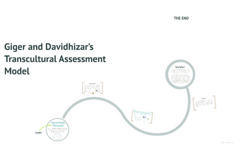 the giger and davidhizar transcultural assessment model
