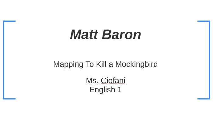 Map of Maycomb by Matt Baron on Prezi