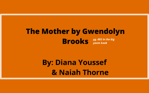 the mother brooks