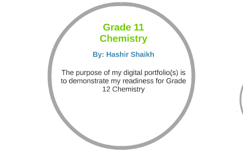 Grade 11 Chemistry by Hashir Shaikh on Prezi