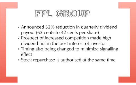 fpl dividend yield