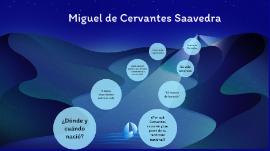 Miguel De Cervantes Saavedra By Valeria Taborda Carvajal