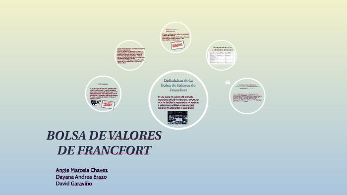 On Francfort By Prezi Lucumi Erazo Bolsa Andrea De Dayana Valores wxSqE86EZ
