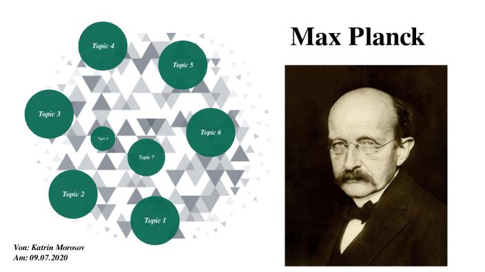Max Planck by K M