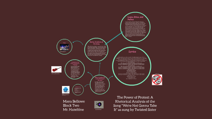 The Power of Protest: A Rhetorical Analysis of the Song