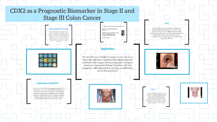 5  Prognostic Biomarker in Stage II and Stage III Colon by Jazmin