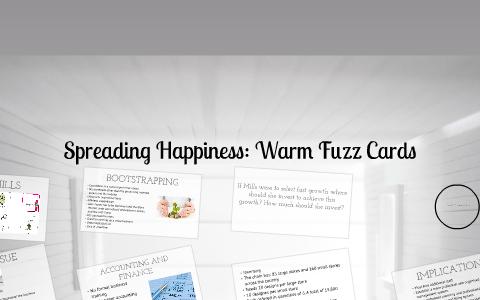 warm fuzz cards